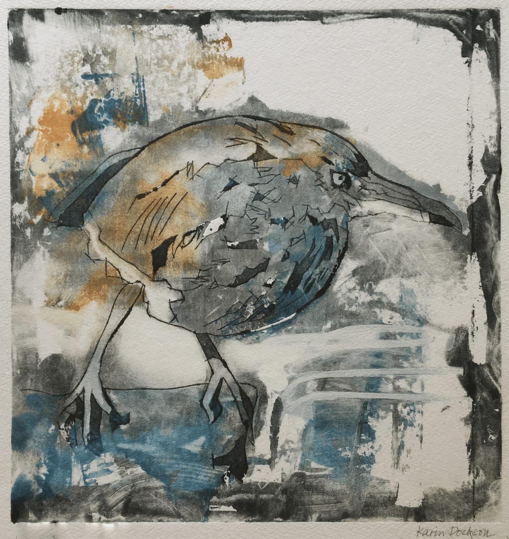 Birdie, 26×30 cm